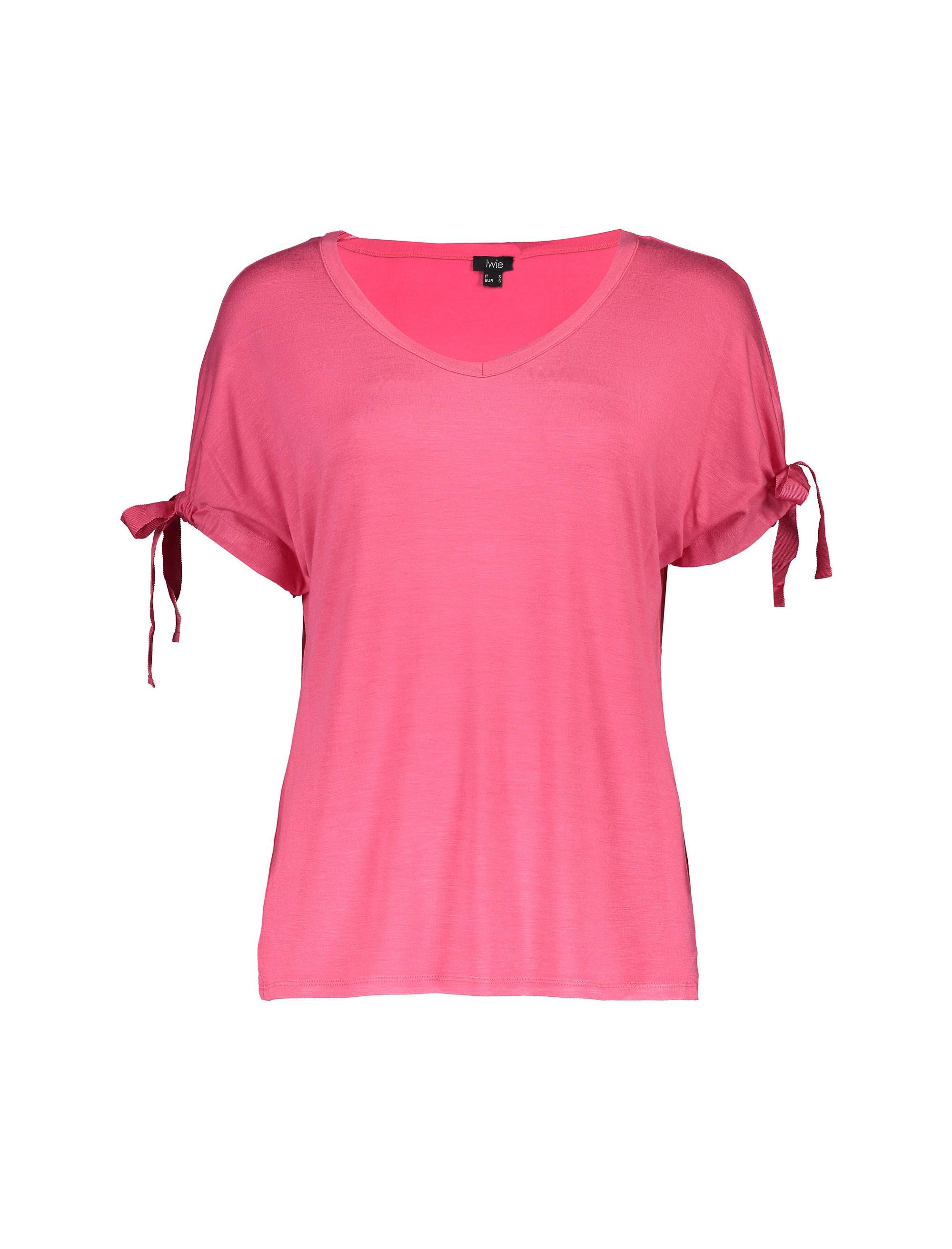 تی شرت ویسکوز یقه هفت زنانه - یوپیم