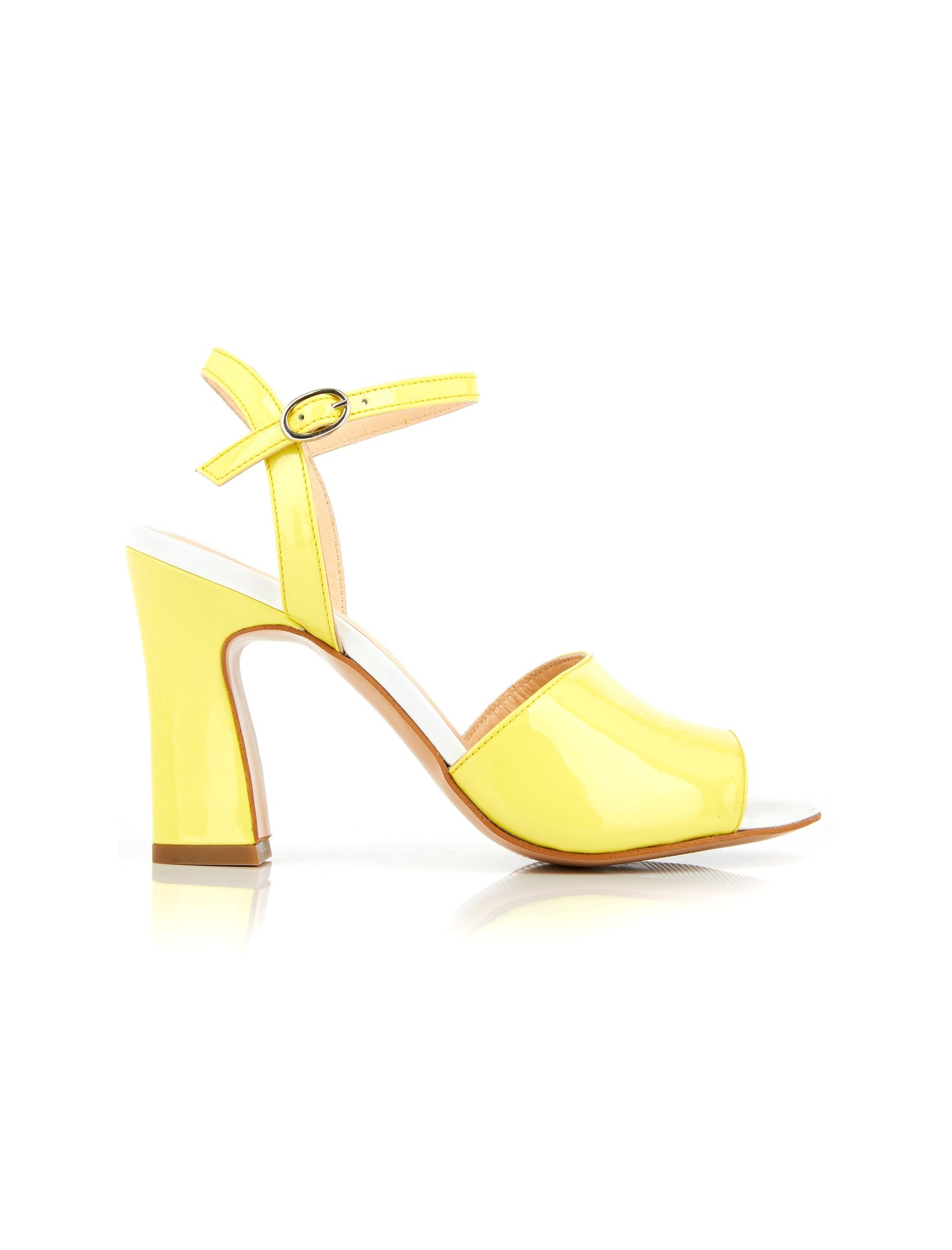 کفش چرم پاشنه بلند زنانه DOVIDELLE