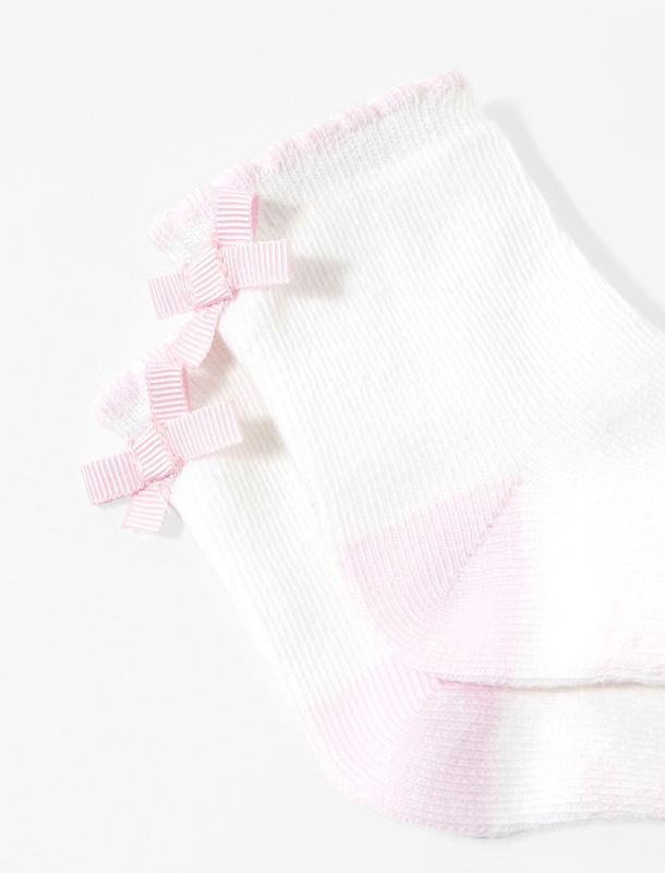 جوراب نخی نوزادی دخترانه Marcia