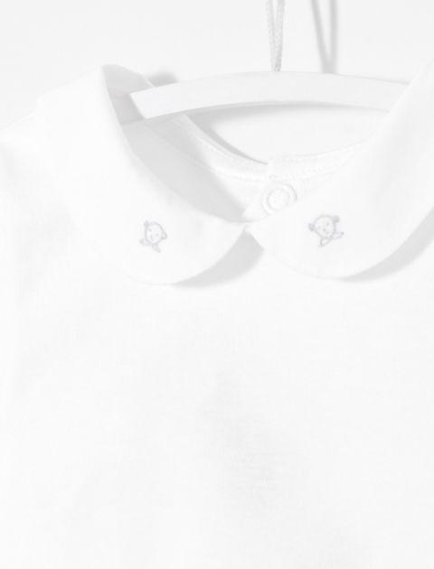 بادی نخی نوزادی پسرانه Livret - سفيد - 4