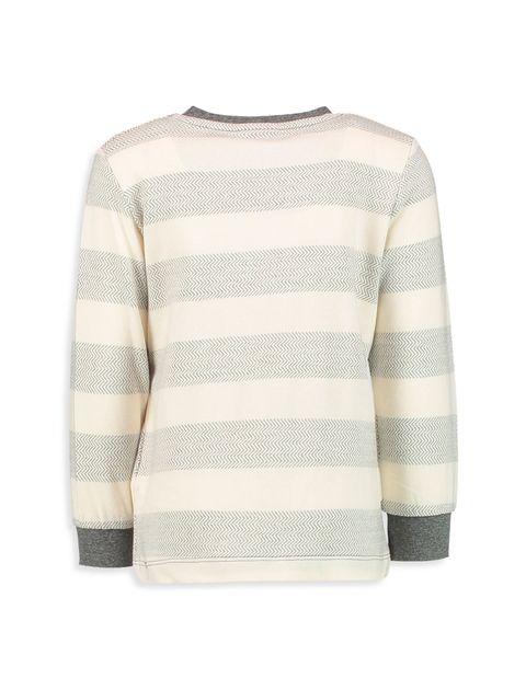 تی شرت نخی یقه گرد پسرانه - ال سی وایکیکی - بژ روشن - 2