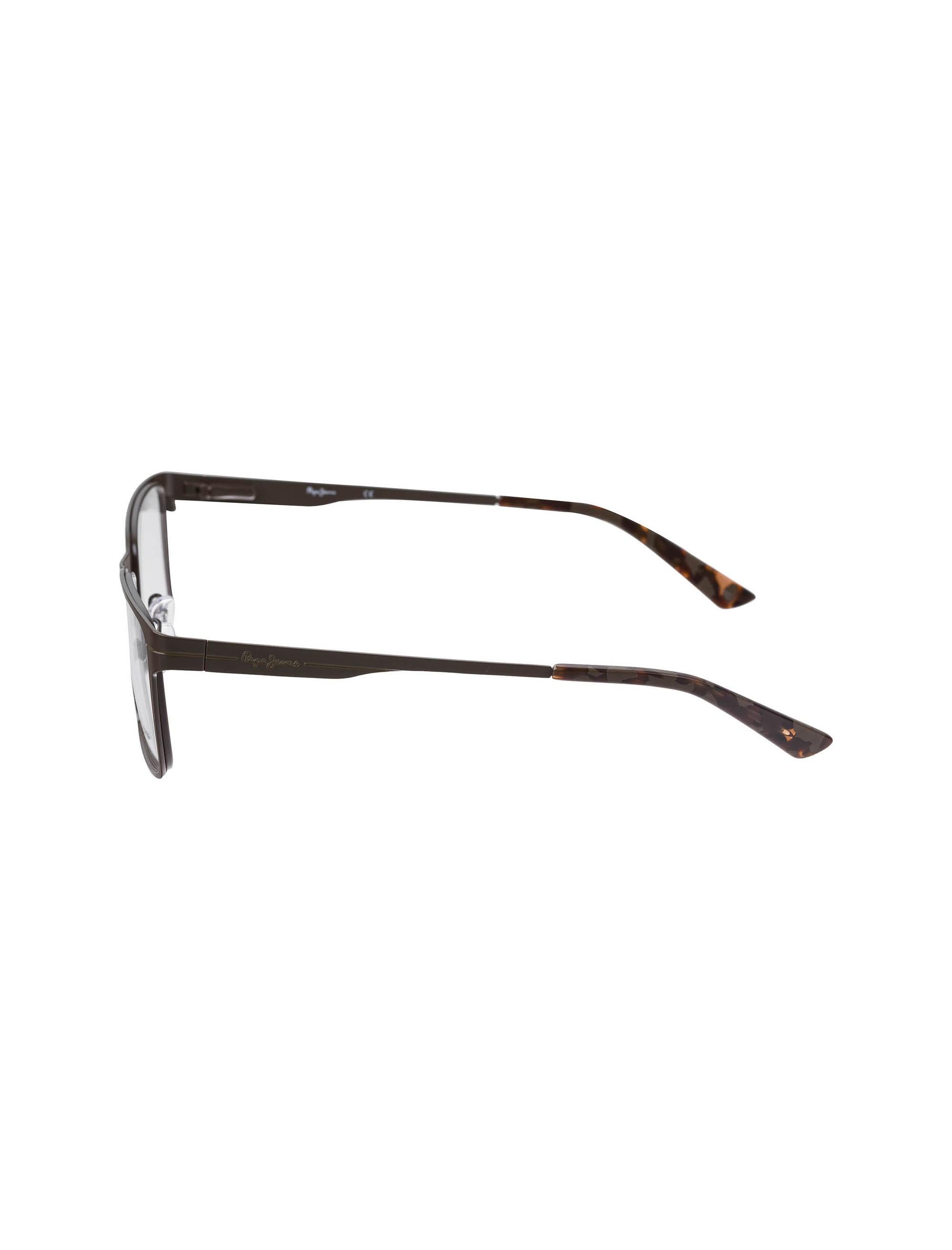 عینک طبی ویفرر مردانه - قهوه اي - 2