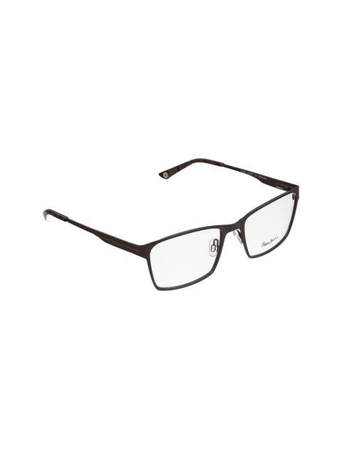 عینک طبی ویفرر مردانه - قهوه اي - 3