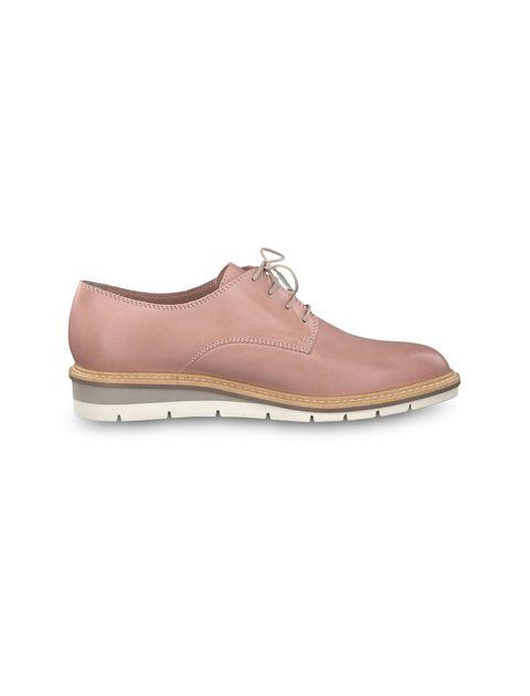 کفش تخت چرم زنانه Kela - تاماریس - صورتي - 1