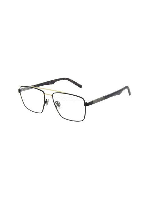 عینک طبی مستطیلی مردانه - اسپاین - مشکي - 1