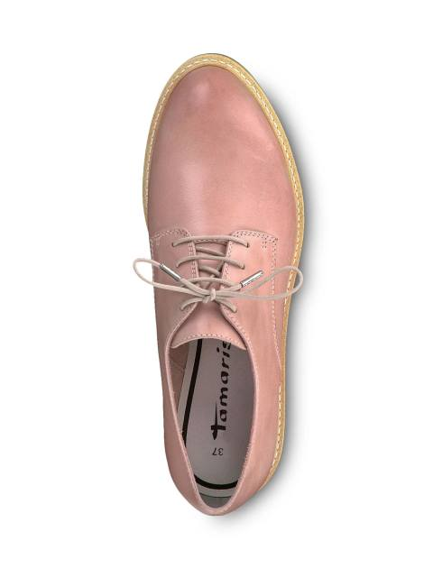 کفش تخت چرم زنانه Kela - تاماریس - صورتي - 2