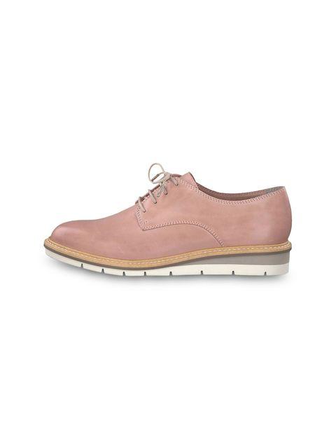 کفش تخت چرم زنانه Kela - تاماریس - صورتي - 3