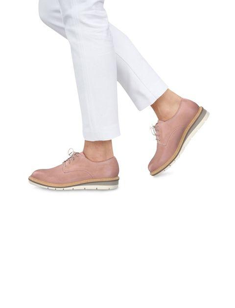 کفش تخت چرم زنانه Kela - تاماریس - صورتي - 6
