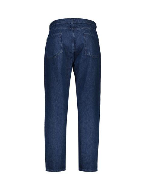 شلوار جین راسته زنانه - آبي - 2