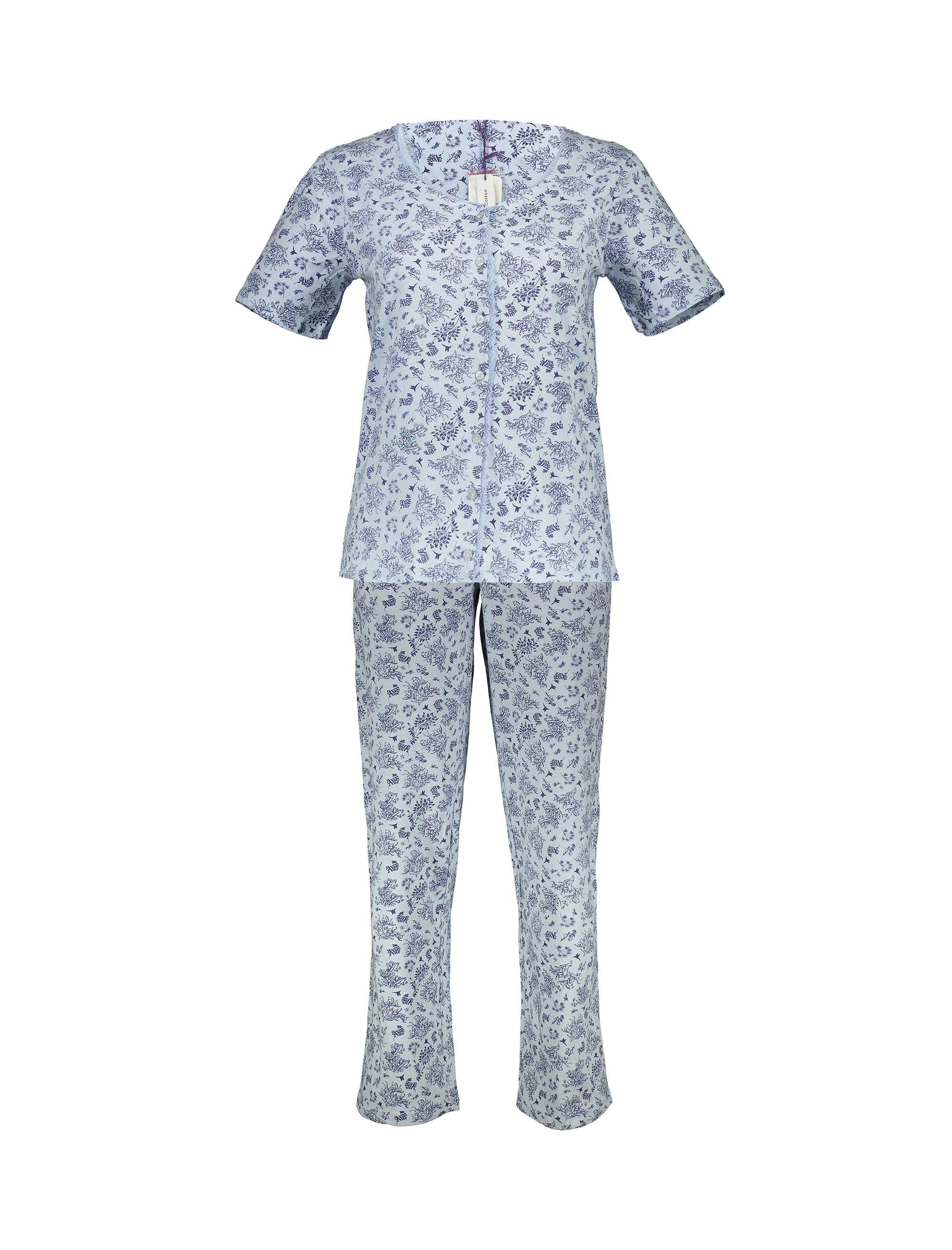 تی شرت و شلوار راحتی نخی زنانه | Women Cotton T-shirt and Pants