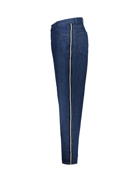 شلوار جین راسته زنانه - آبي - 3