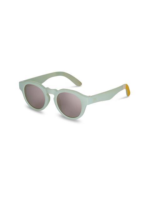 عینک آفتابی گرد زنانه BRYTON - سبز آبي روشن - 2