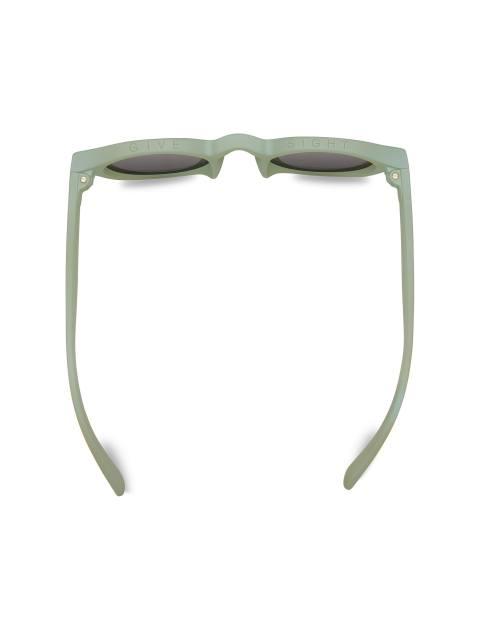 عینک آفتابی گرد زنانه BRYTON - سبز آبي روشن - 3