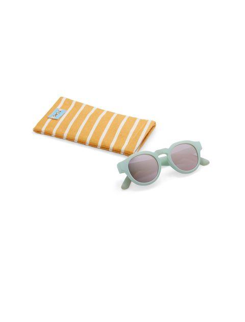 عینک آفتابی گرد زنانه BRYTON - تامز - سبز آبي روشن - 4