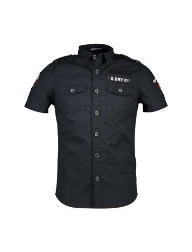 پیراهن نخی آستین کوتاه مردانه - سوپردرای