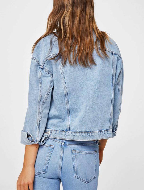 کت جین کوتاه زنانه