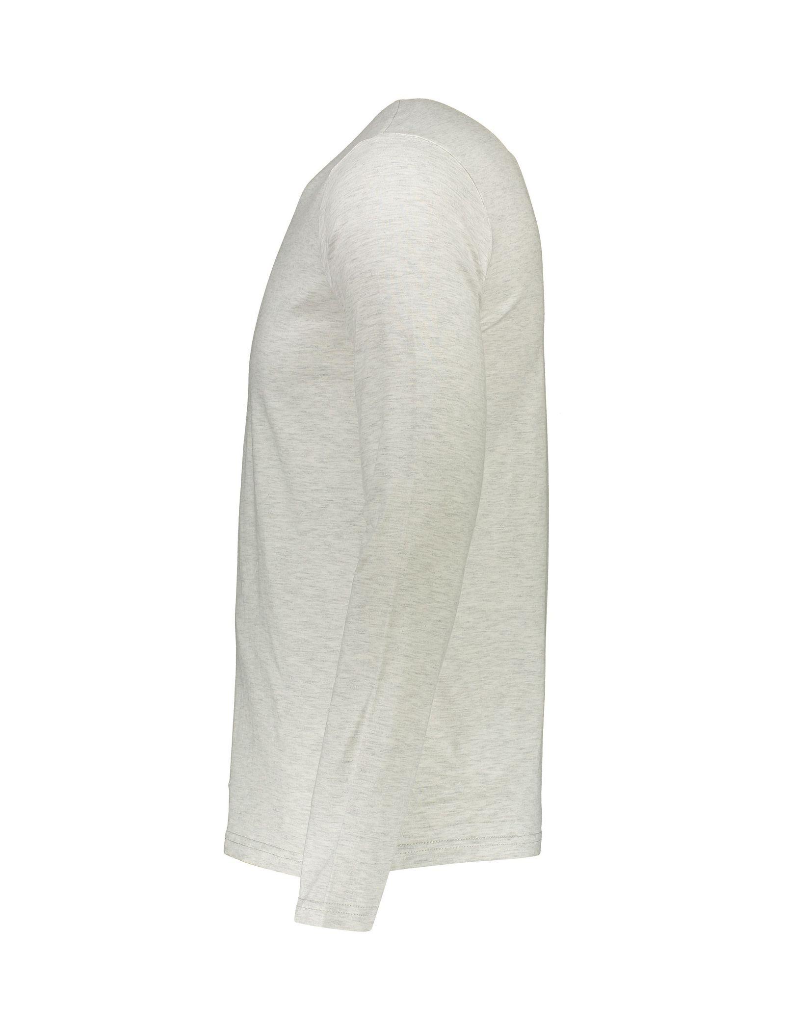 تی شرت نخی یقه هفت مردانه - یوپیم - طوسي - 3