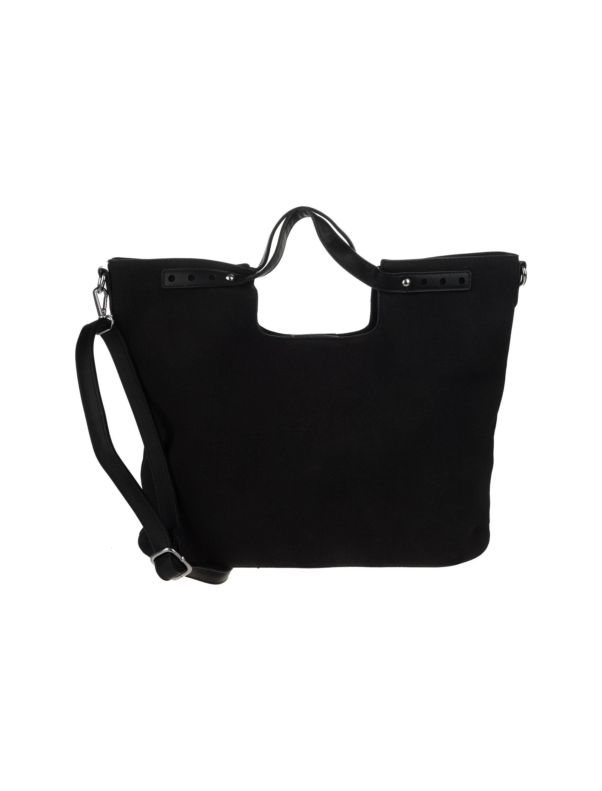کیف دستی روزمره زنانه - شانتال تک سایز - مشکي  - 1