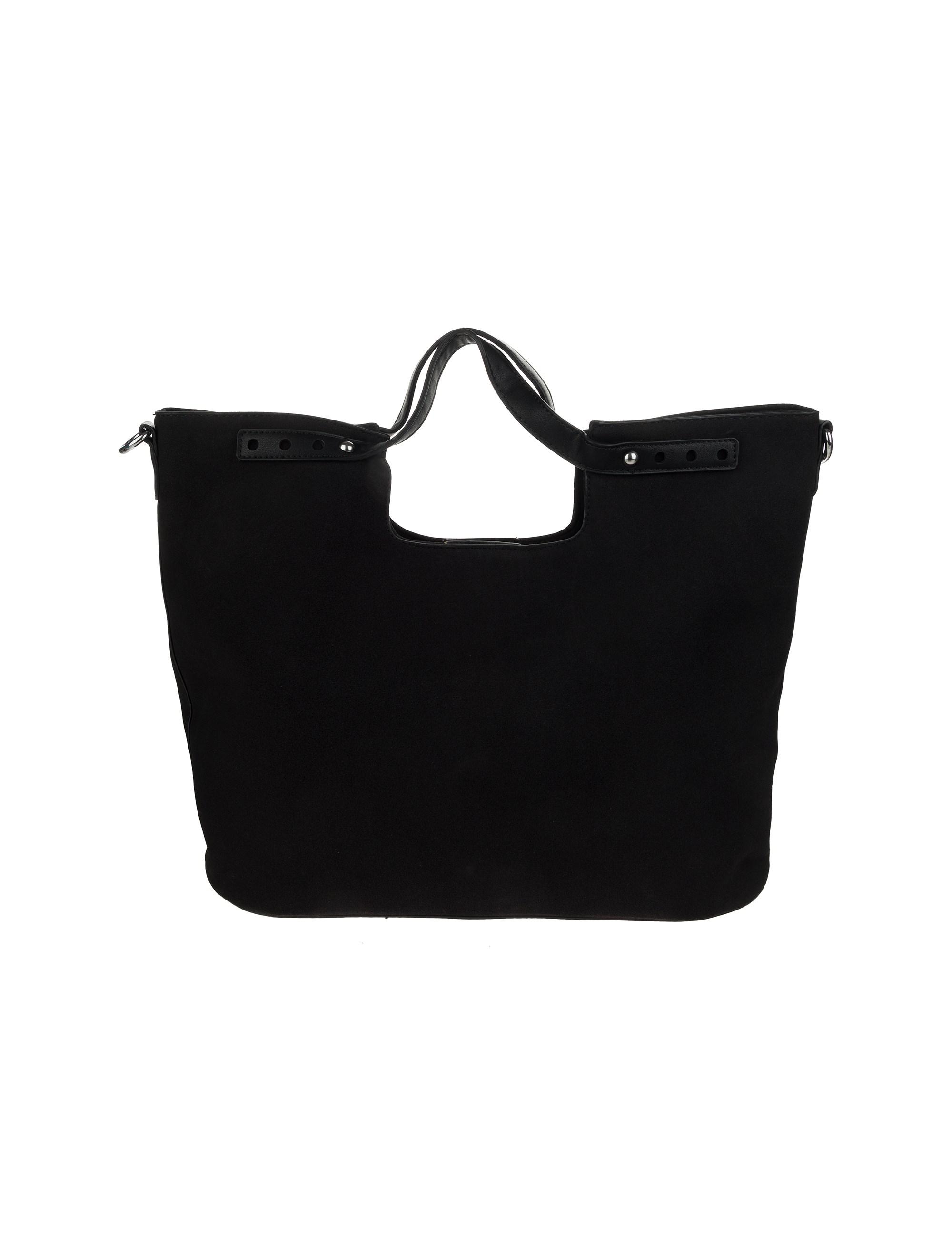 کیف دستی روزمره زنانه - شانتال تک سایز - مشکي  - 3