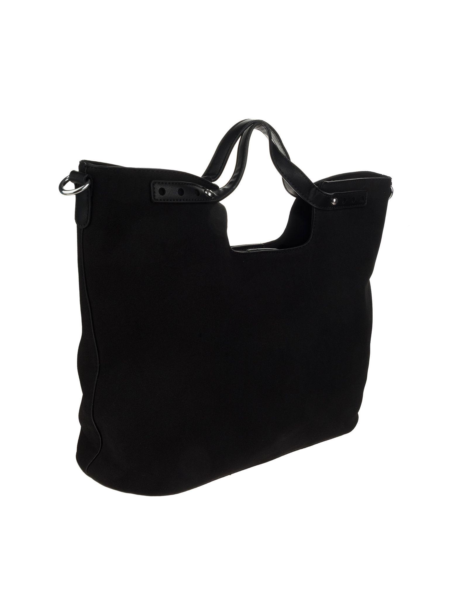 کیف دستی روزمره زنانه - شانتال تک سایز - مشکي  - 4