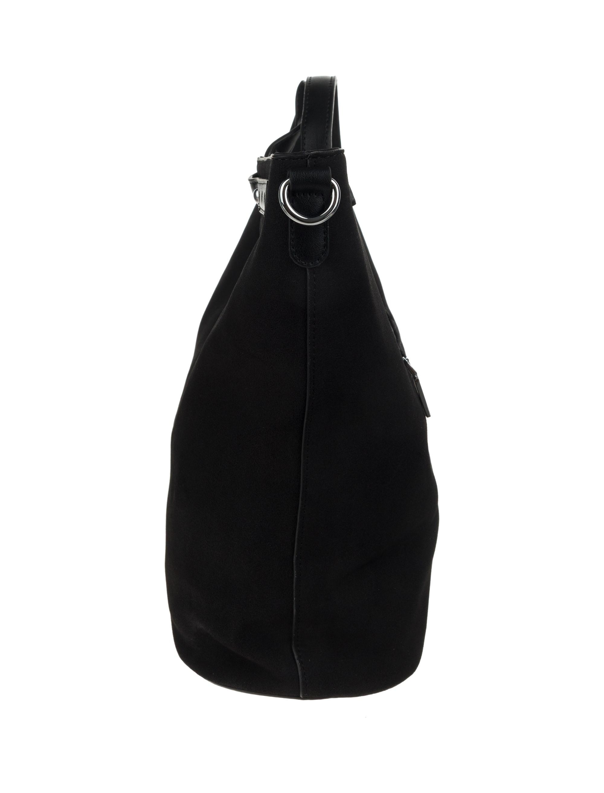کیف دستی روزمره زنانه - شانتال تک سایز - مشکي  - 5