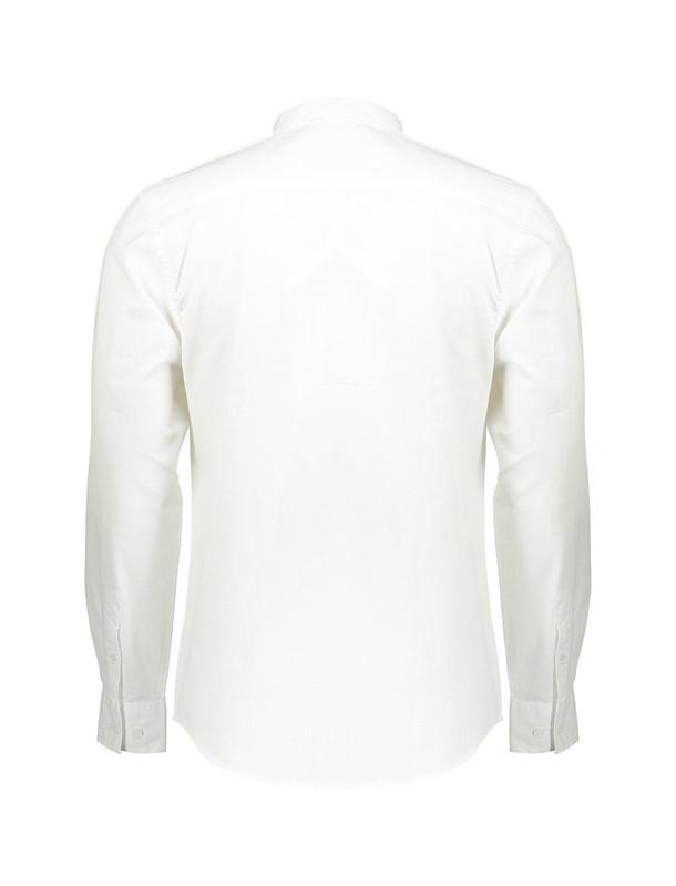 پیراهن نخی آستین بلند مردانه Jay 2.0