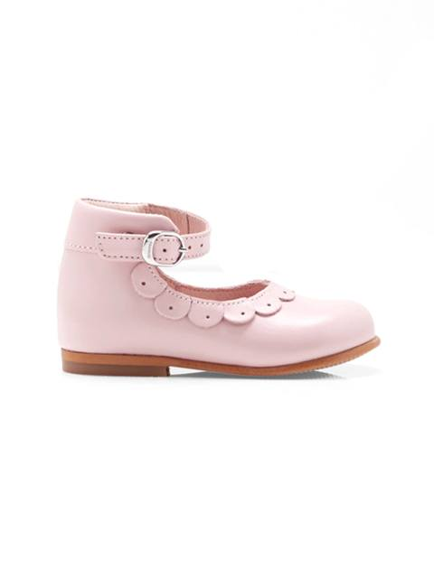 کفش چرم نوزادی دخترانه Sissi - جاکادی - صورتي - 1