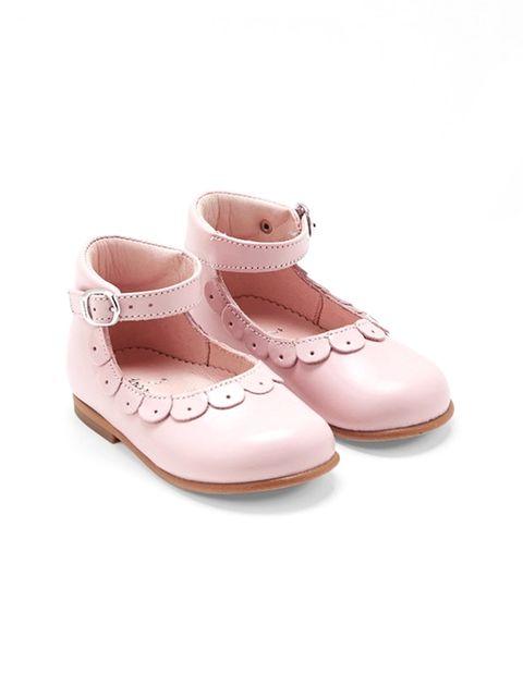 کفش چرم نوزادی دخترانه Sissi - جاکادی - صورتي - 2