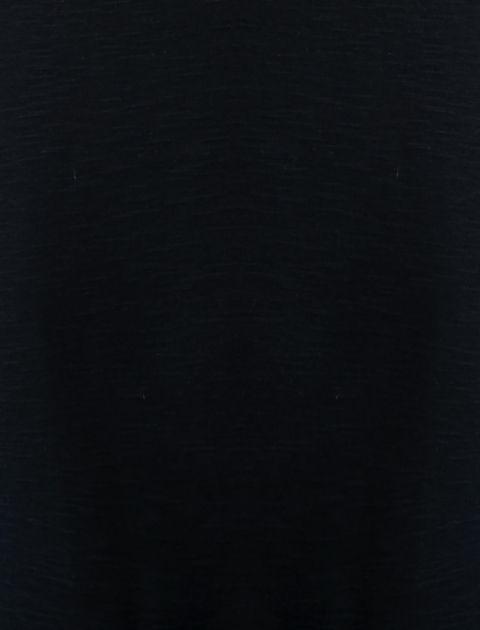 تاپ نخی یقه هفت زنانه - سرمه اي - 4