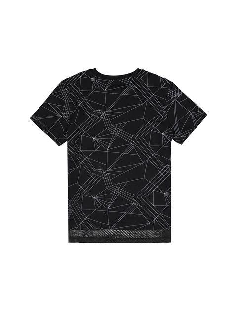 تی شرت ورزشی نخی پسرانه - مشکي - 2