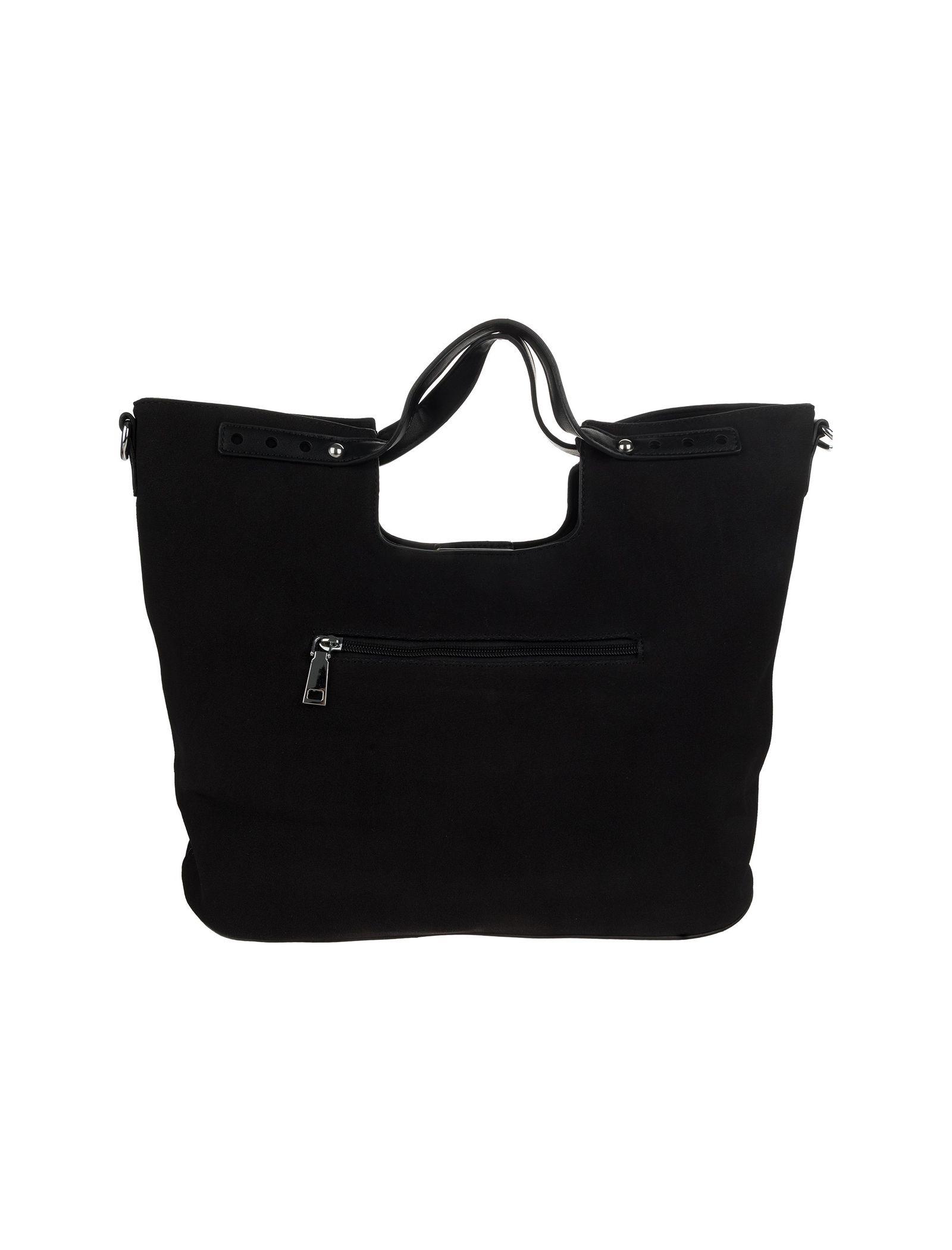 کیف دستی روزمره زنانه - شانتال تک سایز - مشکي  - 6
