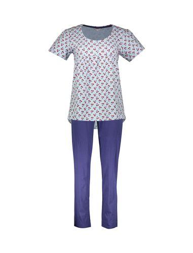 تی شرت و شلوار نخی راحتی زنانه