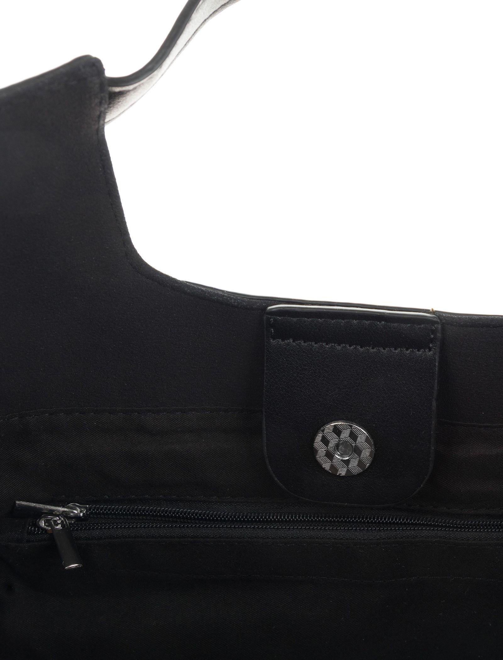کیف دستی روزمره زنانه - شانتال تک سایز - مشکي  - 7
