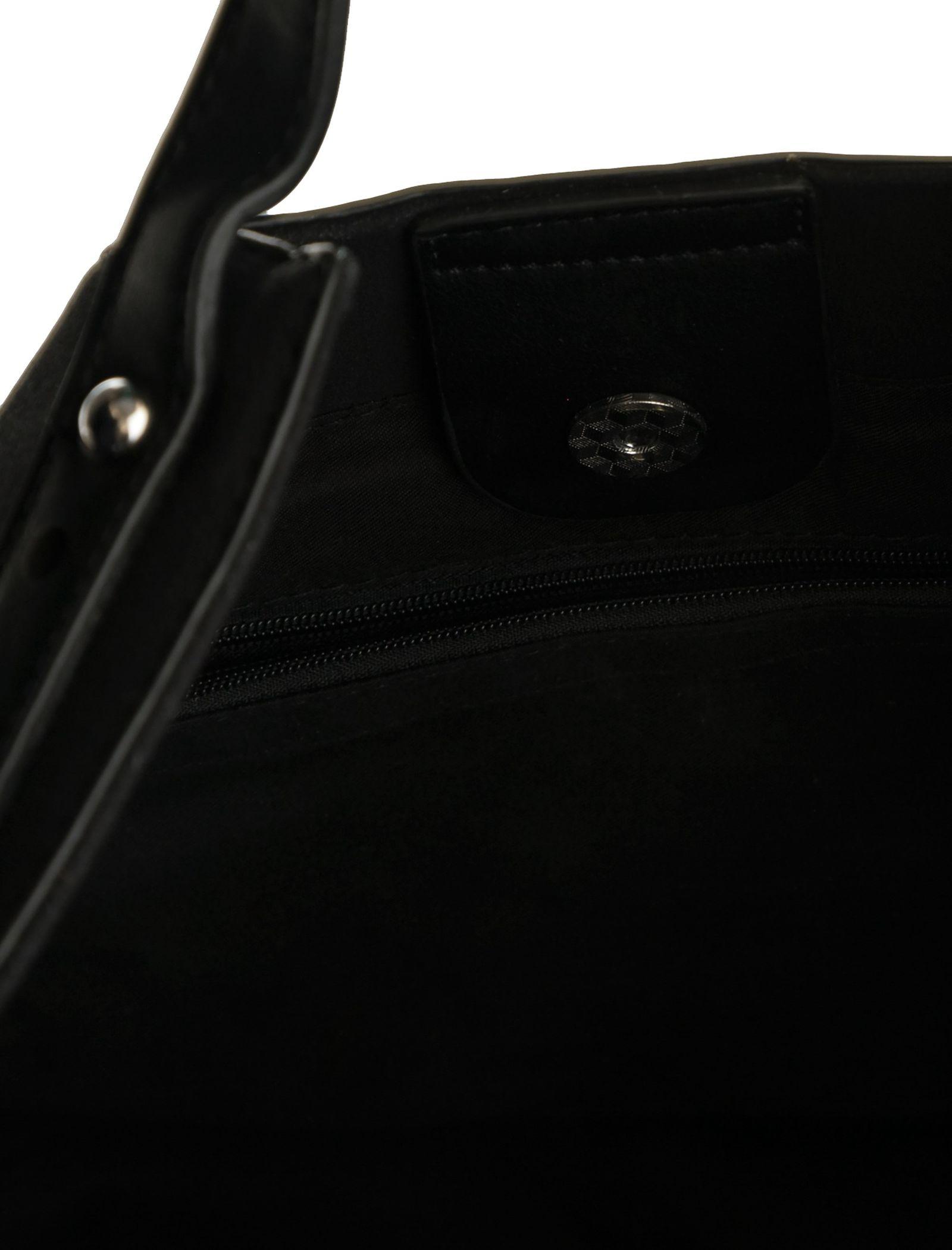 کیف دستی روزمره زنانه - شانتال تک سایز - مشکي  - 8