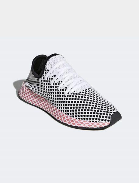 کفش دویدن بندی زنانه Deerupt - مشکي سفيد - 4