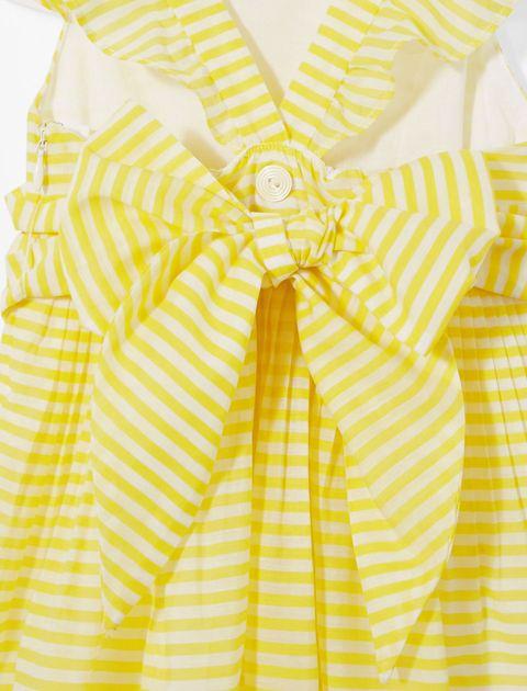 پیراهن روزمره دخترانه Linbis - زرد - 4