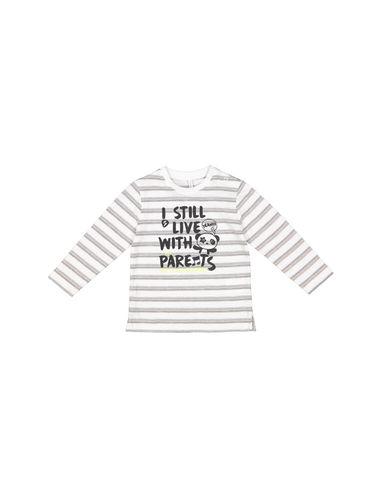 تی شرت نخی طرح دار نوزادی پسرانه