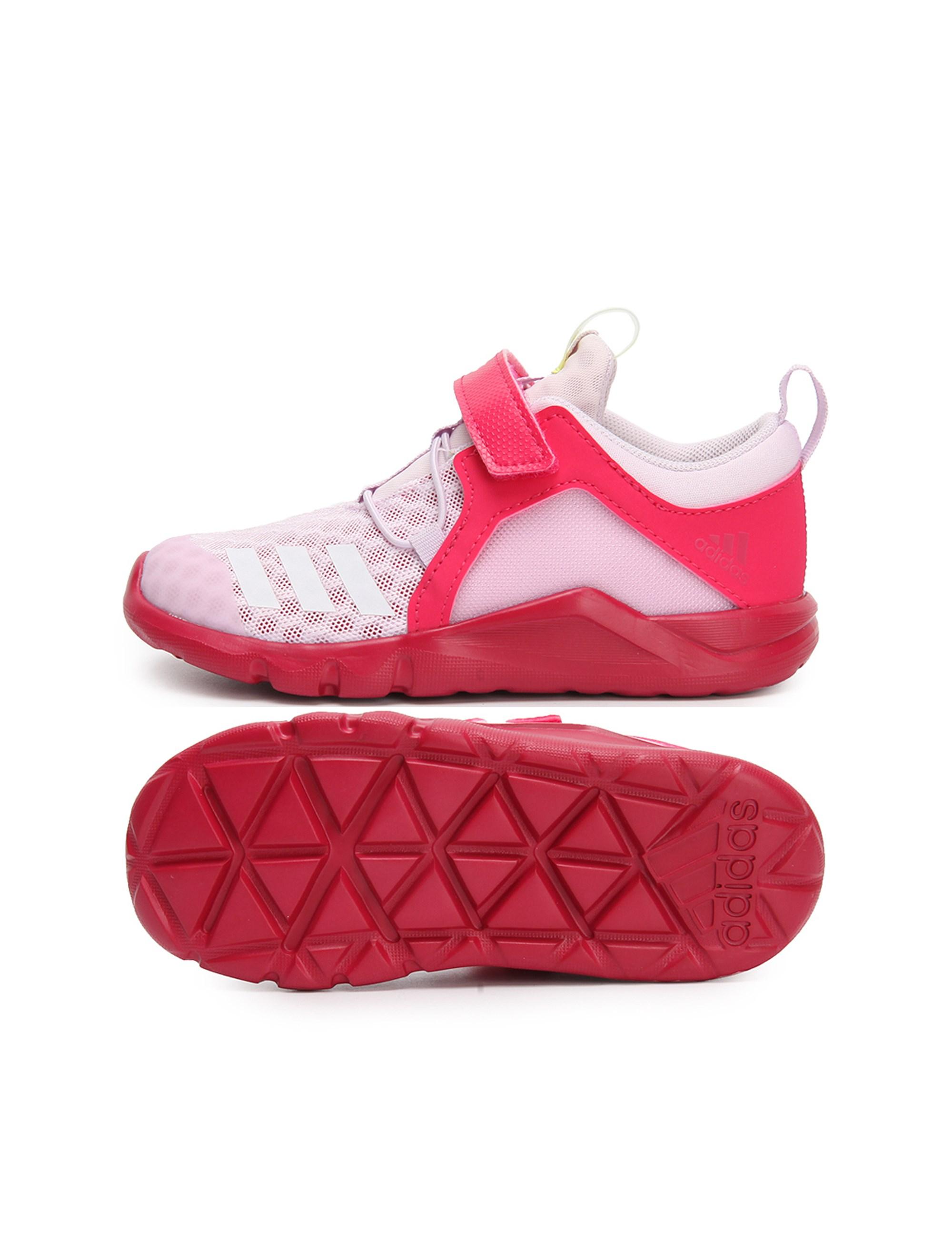 کفش تمرین چسبی دخترانه RapidaFlex 2 - آدیداس - قرمز - 2