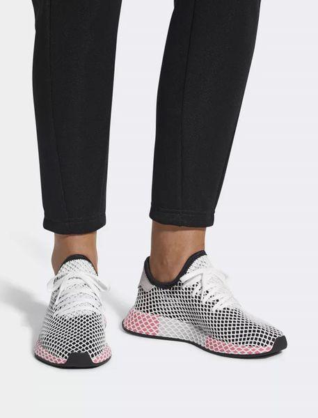 کفش دویدن بندی زنانه Deerupt - مشکي سفيد - 6