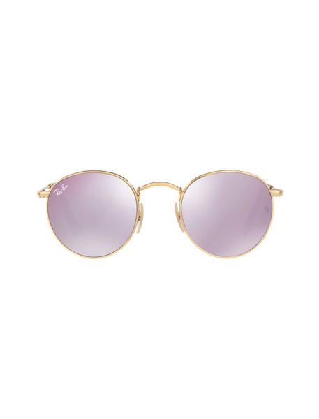 عینک آفتابی گرد مردانه - ری بن