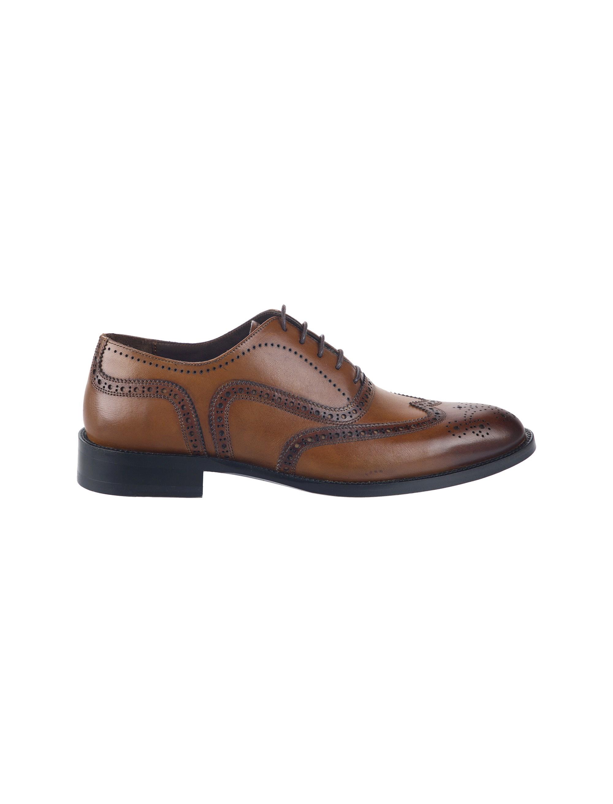 کفش چرم رسمی مردانه - درسا