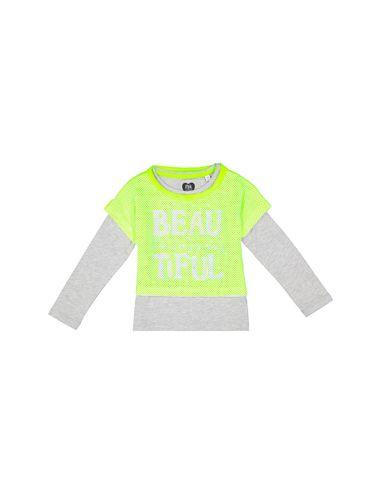 تی شرت نخی یقه گرد دخترانه - بلوکیدز