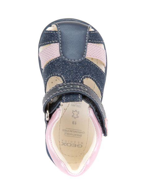 کفش پارچه ای چسبی نوزادی دخترانه KAYTAN - جی اوکس - سرمه اي - 2