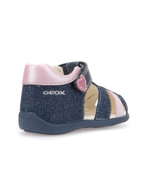 کفش پارچه ای چسبی نوزادی دخترانه KAYTAN - جی اوکس - سرمه اي - 5