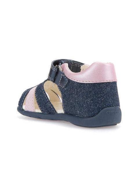 کفش پارچه ای چسبی نوزادی دخترانه KAYTAN - جی اوکس - سرمه اي - 6