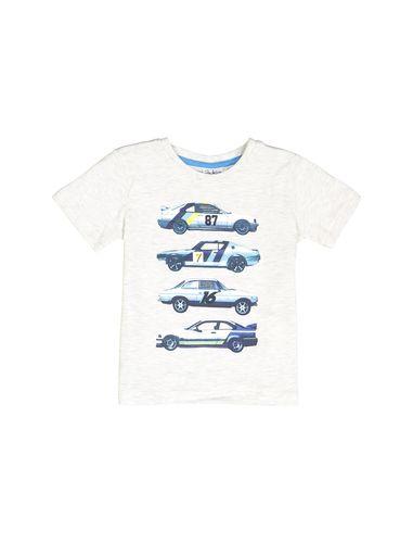 تی شرت نخی یقه گرد پسرانه بسته 2 عددی