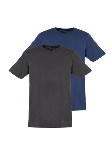 تی شرت نخی یقه گرد مردانه بسته 2 عددی