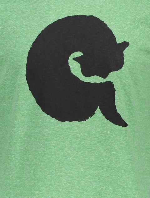 تی شرت یقه گرد زنانه - سبز - 4