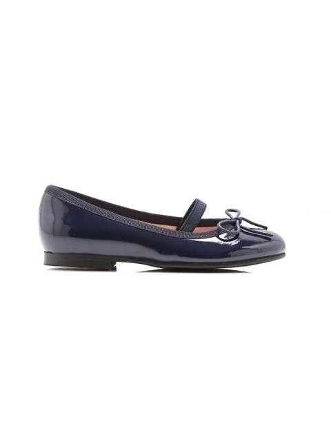 کفش چرم تخت دخترانه Dittle