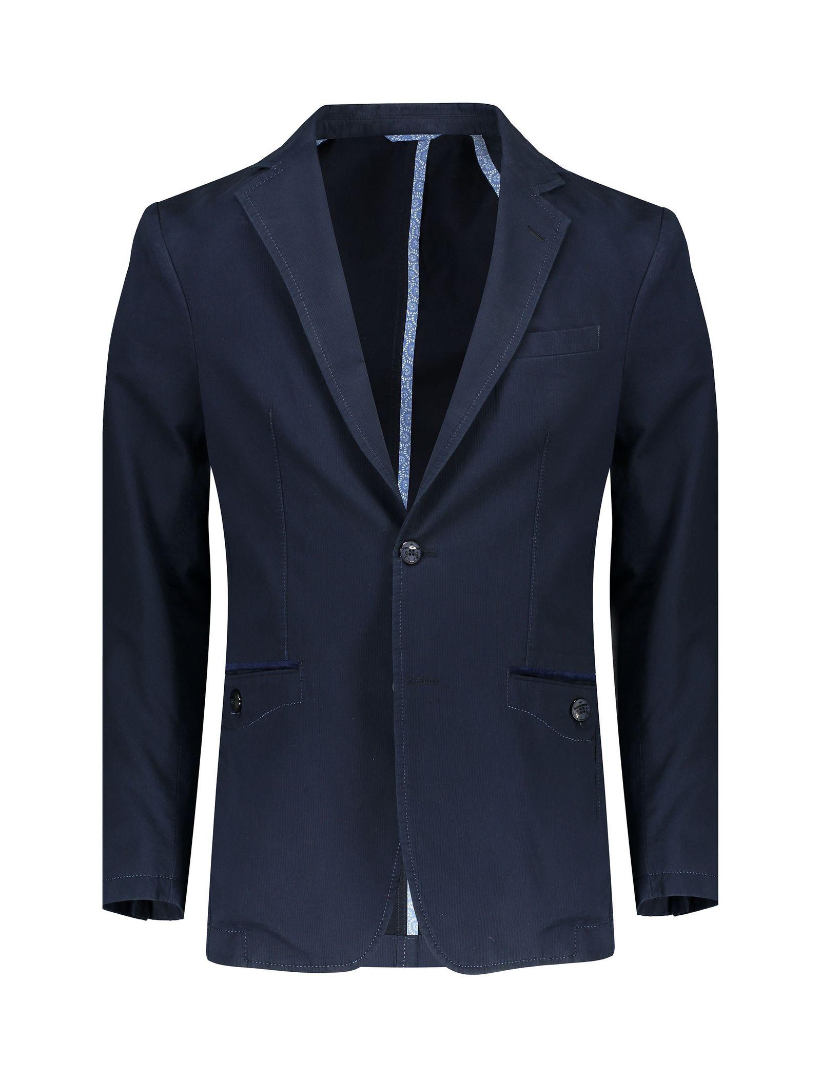 کت تک غیر رسمی مردانه - زاگرس پوش - سرمه اي - 1